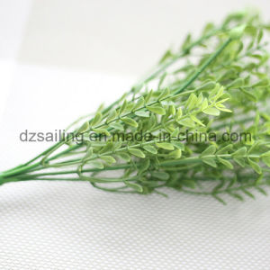 Plastic Leaves Aritificial Flower for Wedding/Home/Garden Decoration (SF16293) pictures & photos