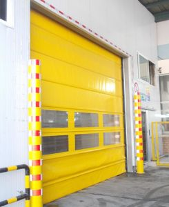 China PVC Auotomatic Stacking Garage Door Supplier pictures & photos