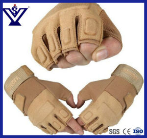 Police Camo Desert Glove/Tactical Gear (SYPG-006) pictures & photos