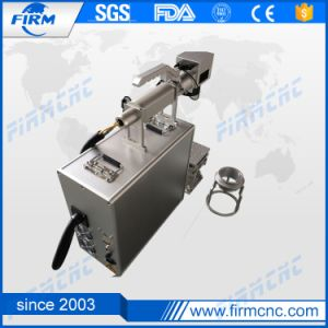 High Quality Fiber Laser Marker for Glasses and Clocks pictures & photos
