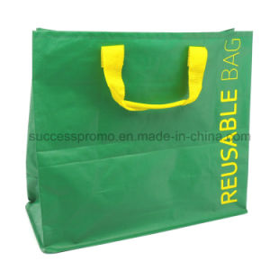 PP Woven Laminated Bag, Reusable Tote Bag with Customized Design pictures & photos