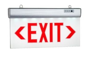 Wall Mounted Acrylic Exit Sign Light pictures & photos
