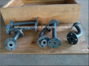 High Quality Wear-Resisting Ceramic Steel Pipe Elbow pictures & photos