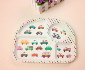 (BC-TP1015) Hot-Sell Eco Bamboo Fibre Multifuction Tray with Print pictures & photos