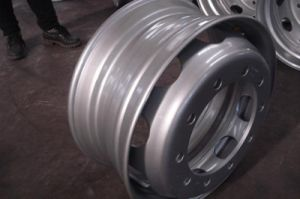 Auto/Semi Trailer Parts Steel Wheel Rim pictures & photos