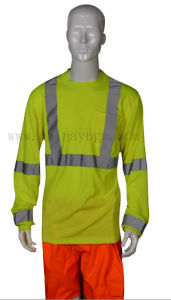 En471 High Visibility Safety Reflective T Shirt pictures & photos