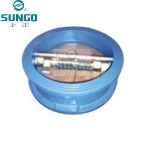 Wafer Dual Plate Check Valve (SUGO NO.802) pictures & photos