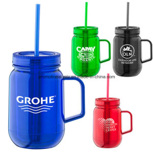 Colorful Travel Mugs with Straw for Promotion pictures & photos