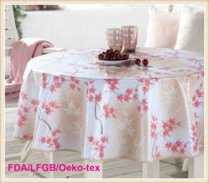 Fashionable PVC Table Cloth Factory Wholesale pictures & photos