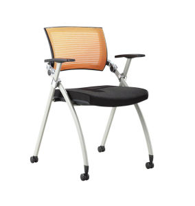 Folding Office Staff Chair with Castor pictures & photos