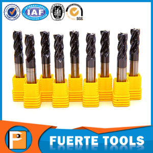 Carbide End Mill Milling Cutter with Altin Coating pictures & photos