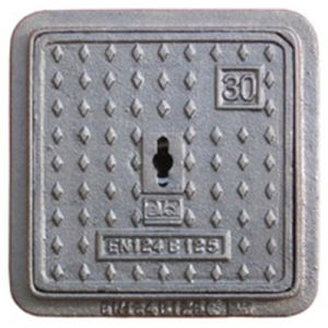 En124 B125 Ductile Iron Square Manhole Cover pictures & photos