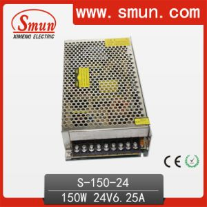 150W 24VDC 6.5A Switched Mode Power Supply SMPS CE RoHS pictures & photos