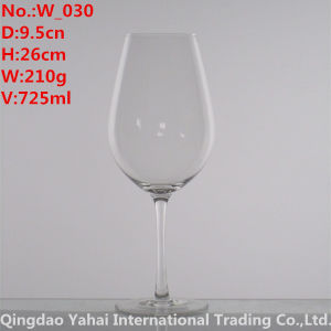 725ml Clear Color Wine Glass pictures & photos