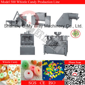 Whistle Candy Gluing Machine Bubble Gum Candy Sticking Machine pictures & photos