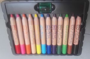 Woody Wax Crayons, 120mm Jumbo Color Pencils pictures & photos
