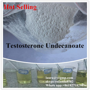 99.5% Top Safe Bodybuilding Steroid Powder Testosterone Undecanoate CAS 5949-44-0 pictures & photos