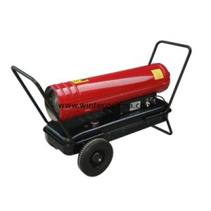 Diesel Forced Heater Air Heater Outdoor Heater Direct Kerosene Heater 50kw with Wheels pictures & photos