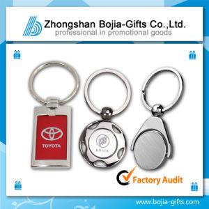 Promotional Metal Keychain with Custom Logo (BG-KE748)