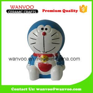 Cartoon Style Digital Coin Bank, Doraemon Ceramic Money Box pictures & photos