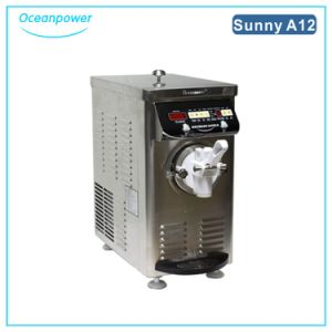 Mini Soft Ice Cream Machine (Oceanpower Sunny A12) (Stainless steel body) pictures & photos