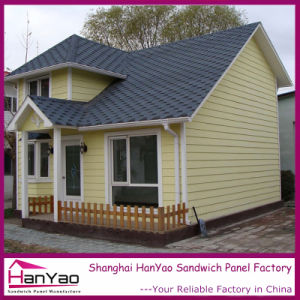 Prefabricated House Made up with Light Steel Structure&Sandwich Panel pictures & photos