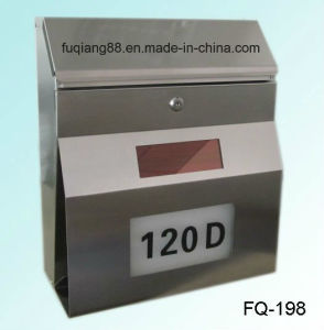 Fq-198 Hot Sale Solar LED Lighted Mailbox pictures & photos