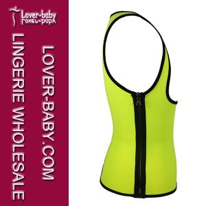 Waist Trainer Shapewear Sauna Sports Vest Shirt (L42657-4) pictures & photos