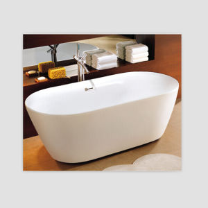 Pure Acrylic USA Freestanding Bathtub with Cupc Classic Bath Tub pictures & photos