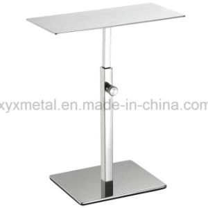 Stainless Steel Shoes Exhibition Holder Height Adjustable Table Display Stand pictures & photos