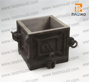 Cast Iron Four Parts Concrete Cube Mould pictures & photos
