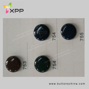 17mm New Style Plated Metal Button pictures & photos
