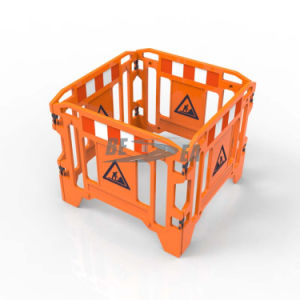 PE Plastic Traffic Gate Work Barrier pictures & photos