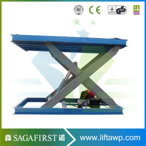 U Type E Type Hydraulic Electric Scissor Lift Platform pictures & photos