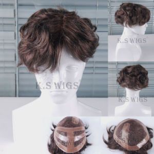 Wholesale Price Hair Wigs Toupees for Men pictures & photos