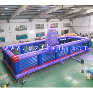 Adult Outdoor Fitness Inflatable Climbing Wall pictures & photos