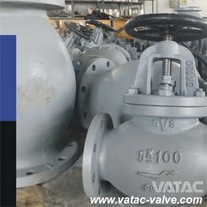 Handwheel Operated Bolted Bonnet Flanged Marine Globe Valve pictures & photos
