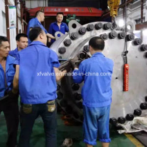 Large Diameter Trunnion Mounted Gear Operation Ball Valve pictures & photos
