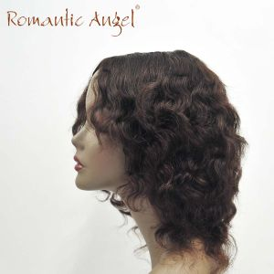 Machine Made Human Hair Cheap Price Curly Fashion Wigs pictures & photos