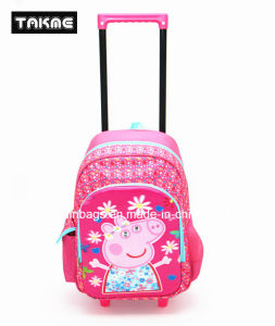 Cartoon EVA Printing Trolley Backpack School Bag for Children pictures & photos