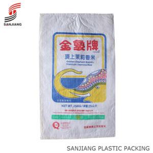 PP Woven Bag for 25kg Rice
