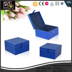 China Supplier 2016 New Design High End Custom Leather Elegant Wooden Gift Box (2179) pictures & photos