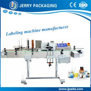 Automatic Glass & Plastic & Pet Bottle Sticker Label Labeling Machine pictures & photos