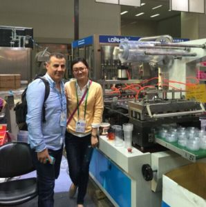Coffee Lid Forming Machine (PP-500) pictures & photos