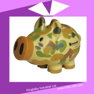 PVC Piggy Money Bank with Logo Printing Pb-001 pictures & photos