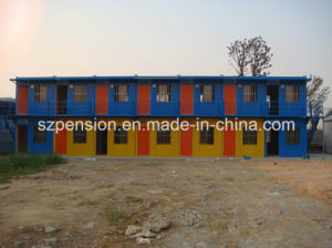 Low Cost Newest Folding Container Prefabricated/Prefab House for Living pictures & photos