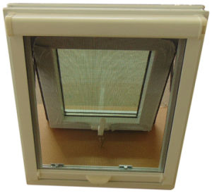 Security Design Plastic Awning Window (TS-1042) pictures & photos