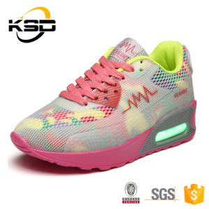 2016 New Stlyle Colorful Boots USB Charging Light up LED Comfort Sports Shoes pictures & photos