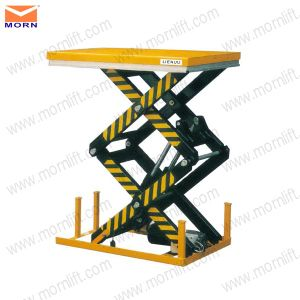 Scissor Dock Lift for Forklift or Truck pictures & photos