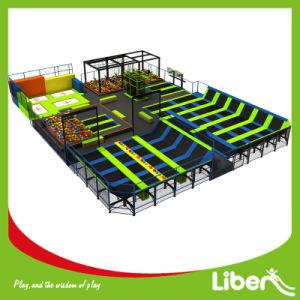 Indoor Custom Design Commercial Trampoline Park pictures & photos